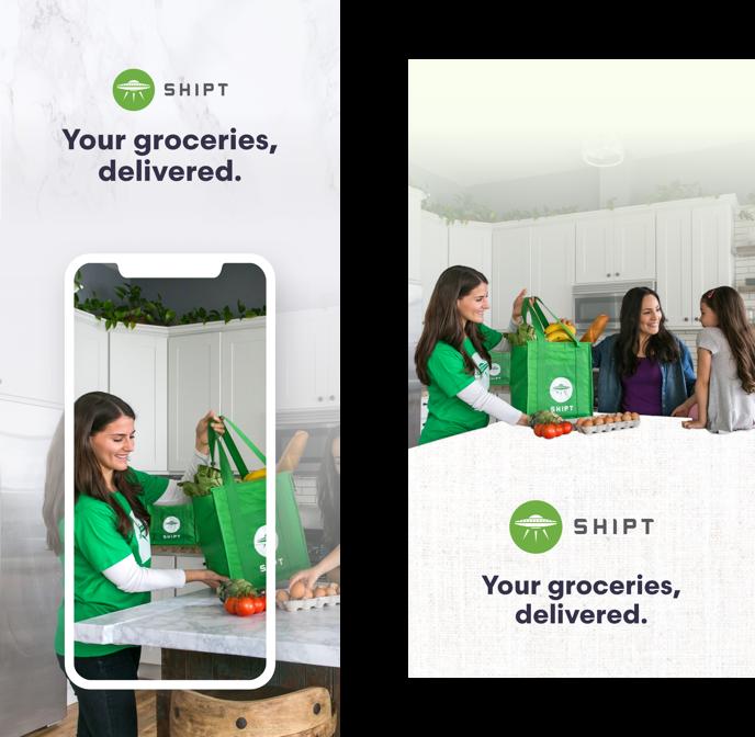 Julie Sim's Portfolio – Shipt App Store Screens Redesign